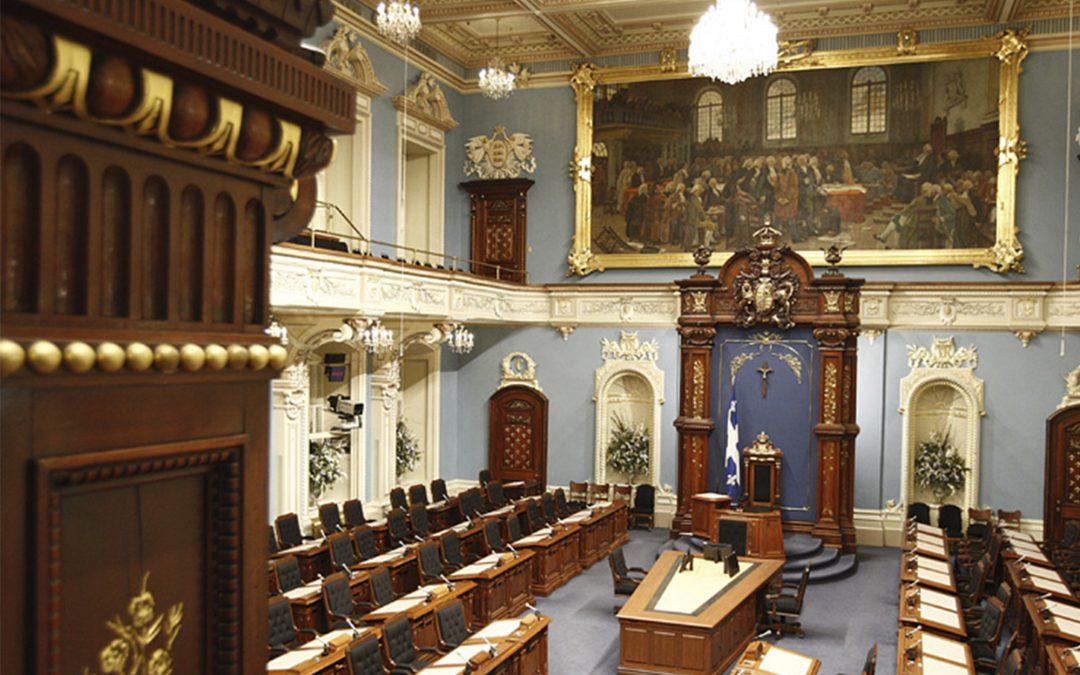 Mémoire portant sur la loi électorale