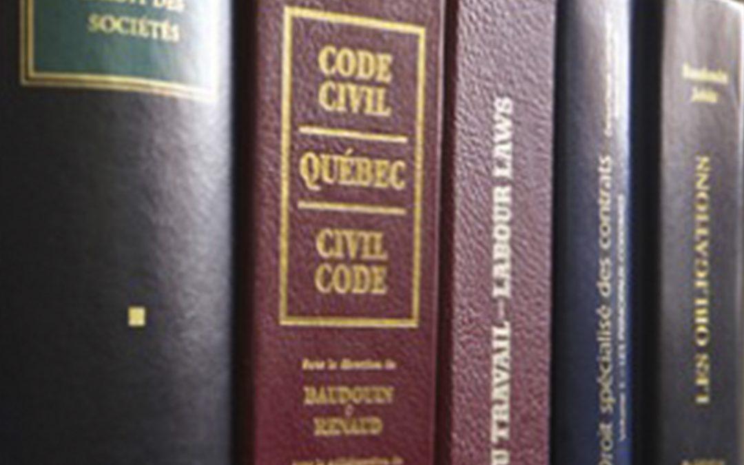 Mémoire portant sur le projet de loi 103